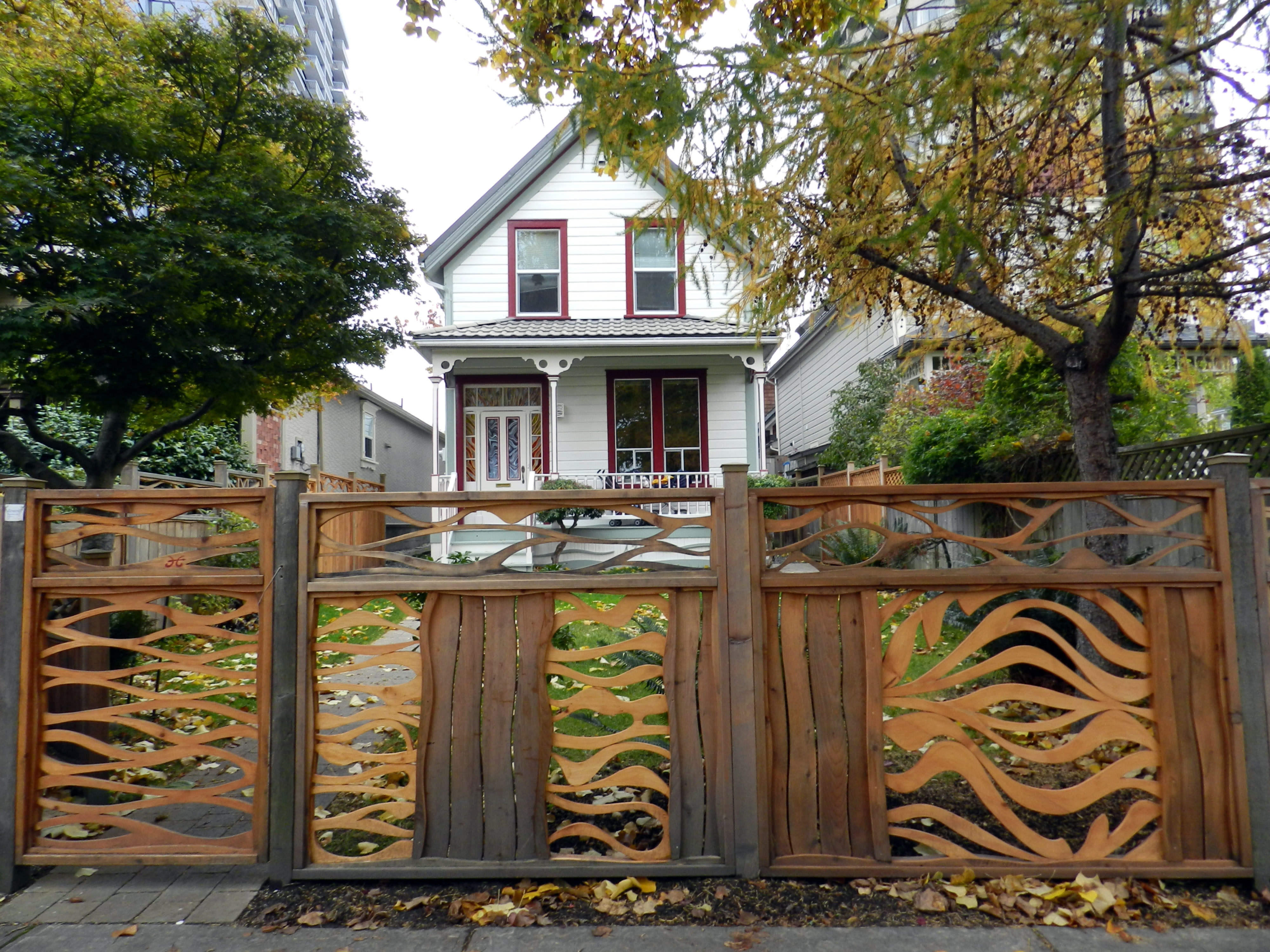 Wooden garden gates for sale - Sometime