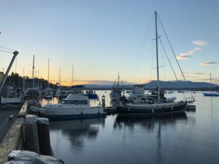 Cowichan Bay sundown[fl]
